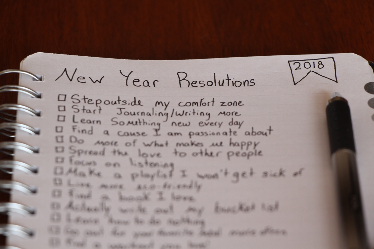 15 Unique New Years Resolutions